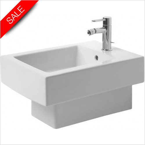 Duravit Toilets - Vero Bidet Wall Mounted 540mm With Overflow 1TH