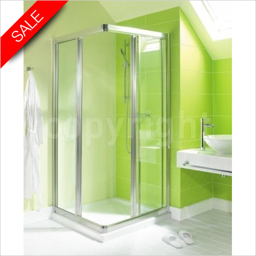 Simpsons Shower Enclosures - Supreme Corner Entry 760mm