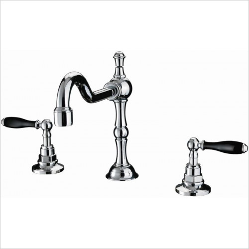 Imperial Bathroom Taps - Bec 3TH Basin Mixer Kit