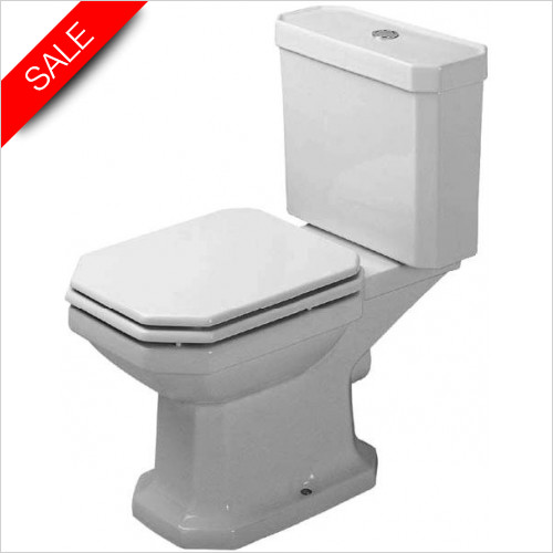 Duravit Toilets - 1930 Series Toilet Close Coupled 665mm
