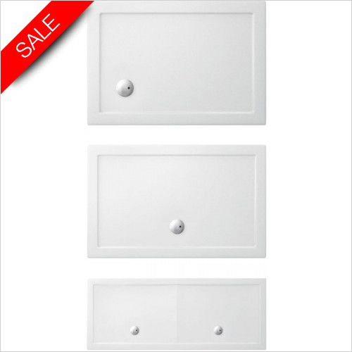 Simpsons Shower Trays - Rectangle Tray 1600x900x35mm