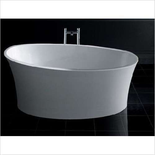 BC Designs - Delicata Thinn Slipper Bath 1520 x 715mm