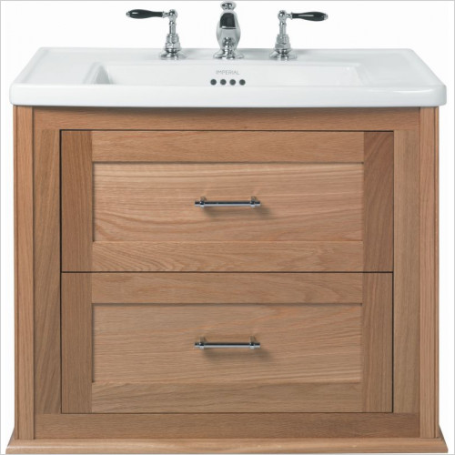 Imperial Bathroom  Furniture - Thurlestone Wall Hung Vanity Unit