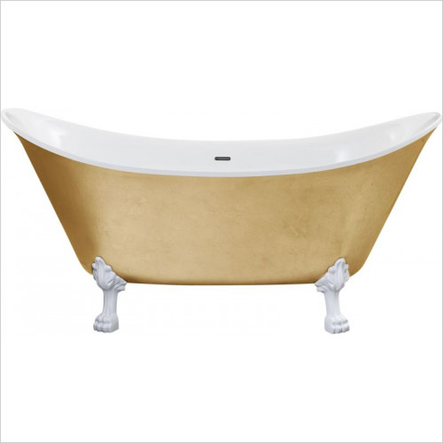 Heritage Baths - Lyddington Freestanding Bath 0TH Including Feet