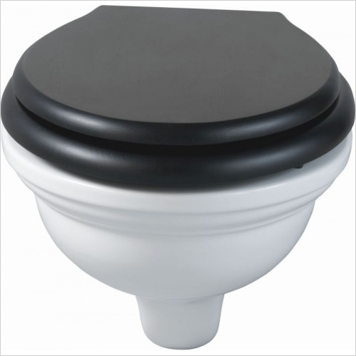 Imperial Bathroom Toilets - Carlyon Wall Hung Pan