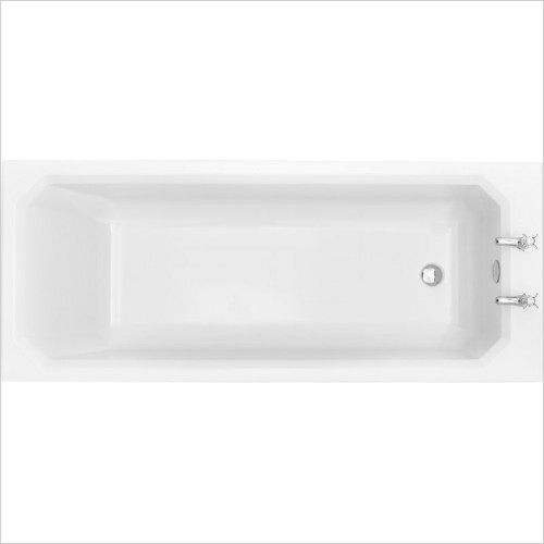 Heritage Baths - Granley Deco SE Bath 1700 x 700mm 2TH