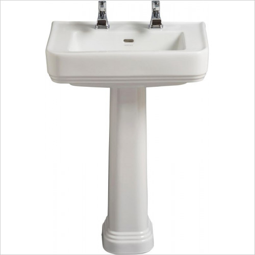 Heritage Basins - Wynwood 600mm Basin 2TH