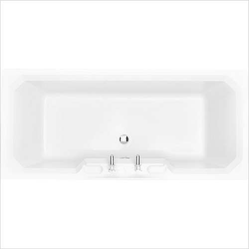 Heritage Baths - Granley DE Bath 1800 x 800mm 2TH