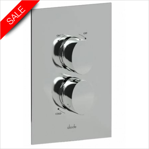 Abode - Debut Concealed Thermo Shower Valve - 1 Exit