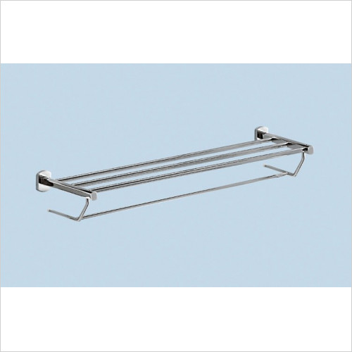 Bathroom Origins - Gedy Edera Towel Rack With Arm