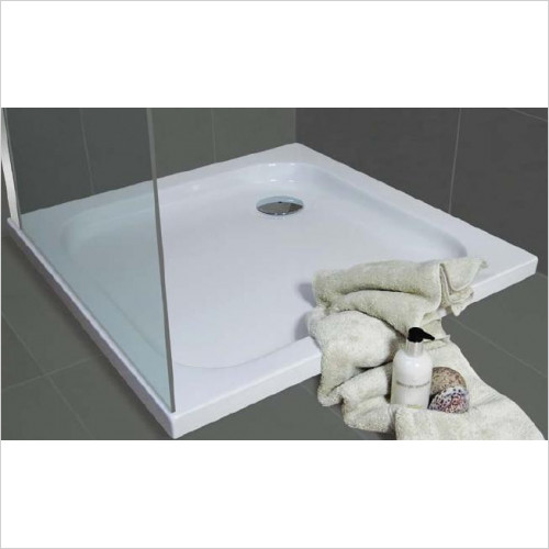 Bathroom Origins - Urban Low Profile Shower Tray 800x800mm