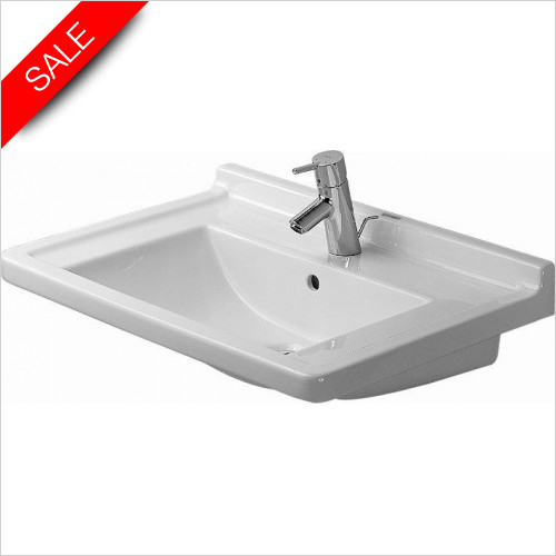 Duravit Basins - Starck 3 Furniture Washbasin 700mm 3TH