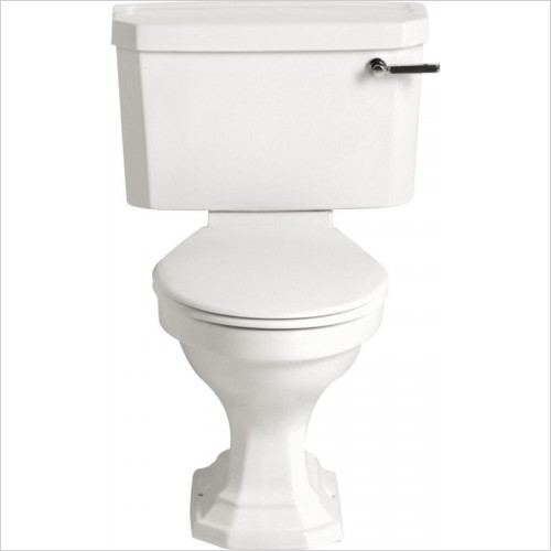 Heritage Toilets - Granley Deco Close Coupled Cistern Inc. Fittings