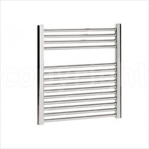 Bauhaus - Design T Straight Panel Towel Warmer 600 x 690mm