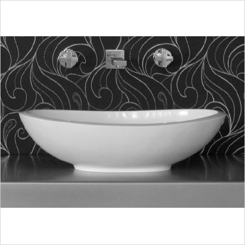 BC Designs - Kurv Thinn Basin 615 x 360mm