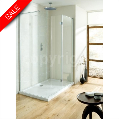 Simpsons Shower Trays - Design View Walk in Easy Access 1700mm