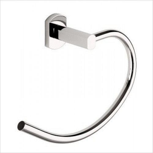 Bathroom Origins - Gedy Edera Towel Ring