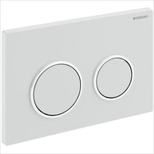 Geberit - Flush Plate Omega20 For Dual Flush