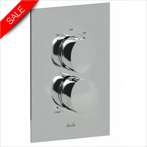 Abode - Debut Concealed Thermo Shower Valve - 2 Exit