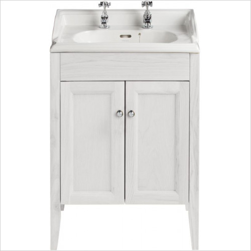 Heritage Furniture - Caversham Vanity For Dorchester Square Basin