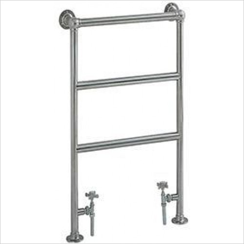 Heritage Heating - Portland Cloakroom Heated Towel Rail
