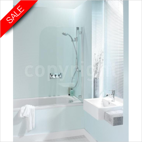 Simpsons Bath Screens - Supreme Deluxe Bath Screen 700 x 1380mm