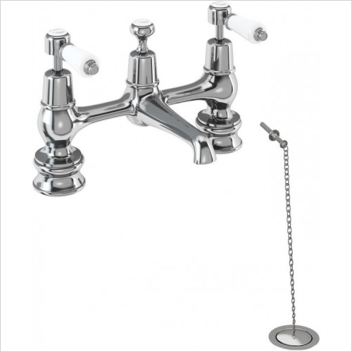 Burlington Taps - Kensington Regent Bridge Basin Mixer