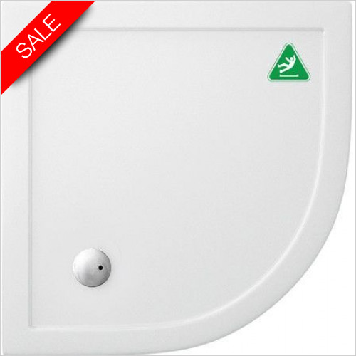 Simpsons Shower Trays - Quadrant Tray 900x900x35mm Anti Slip