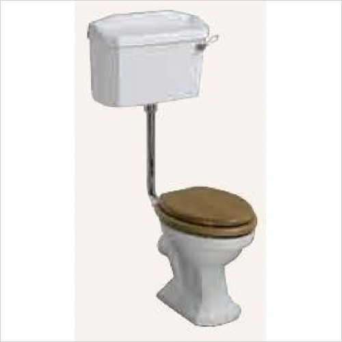 Heritage Toilets - Heritage Low Level Cistern Pack