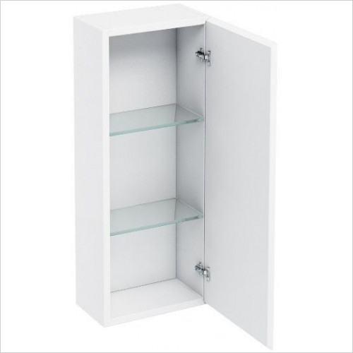 Aqua Cabinets - Wall Cabinet With Mirror 300mm