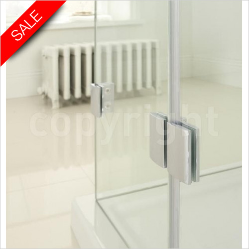 Simpsons Bath Screens - Supreme Deluxe Bath Screen Hinge