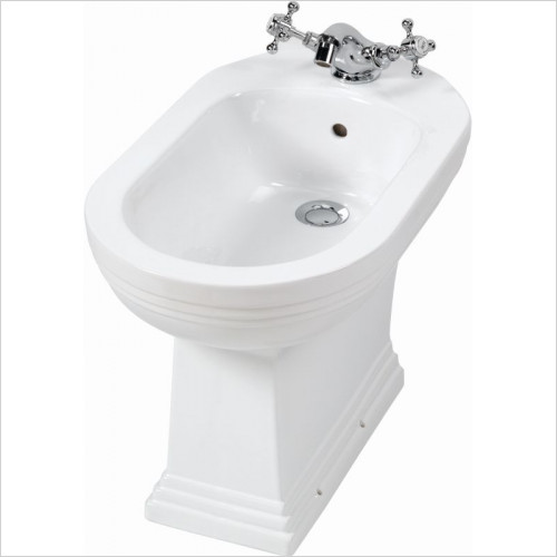 Imperial Bathroom Toilets - Astoria Deco Bidet 1TH