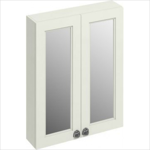 Burlington - 600 Double Door Mirror Wall Unit