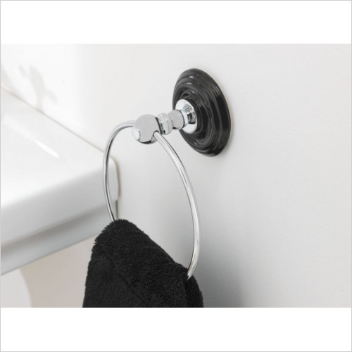 Imperial Bathroom Accessories - Oxford Wall Mounted Towel Ring