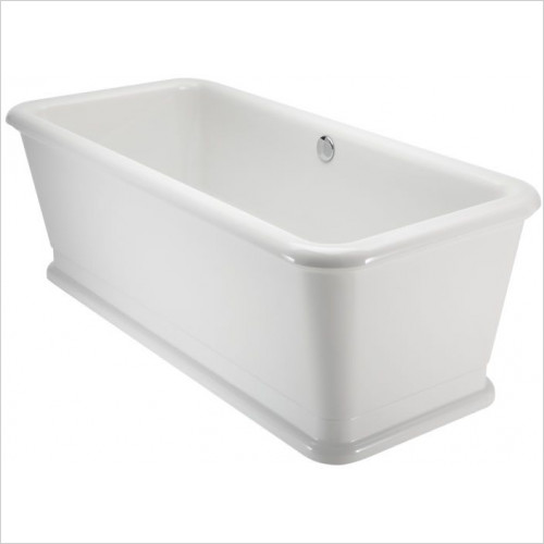 Burlington Baths - London Rectangle Soaking Tub 180 x 85cm