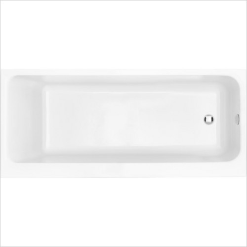 Heritage Baths - Blenheim 1700 x 700mm Acrylic Solid Skin Bath NTH