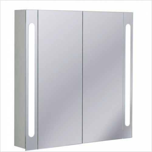 Bauhaus - Aluminium Cabinet Electric 800 x 800 x 120mm