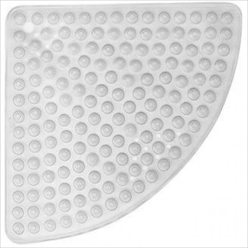 Bathroom Origins - Gedy Funky Bubble Corner Shower Mat