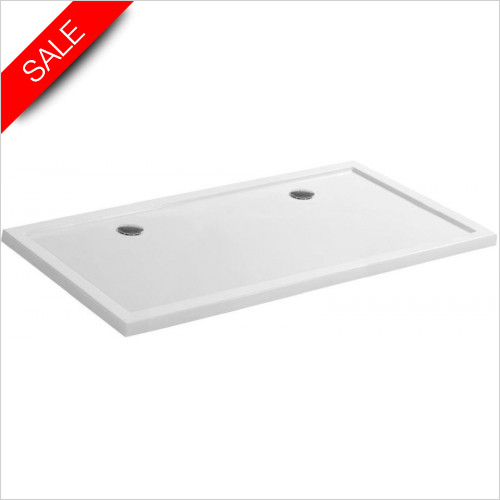 Simpsons Shower Trays - Rectangular Tray 2000x1000x35mm
