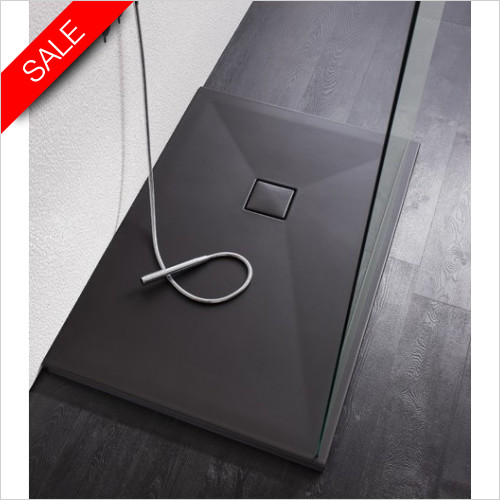 Simpsons Shower Trays - Plus Ton Ceramic Tray 1200x800x30mm