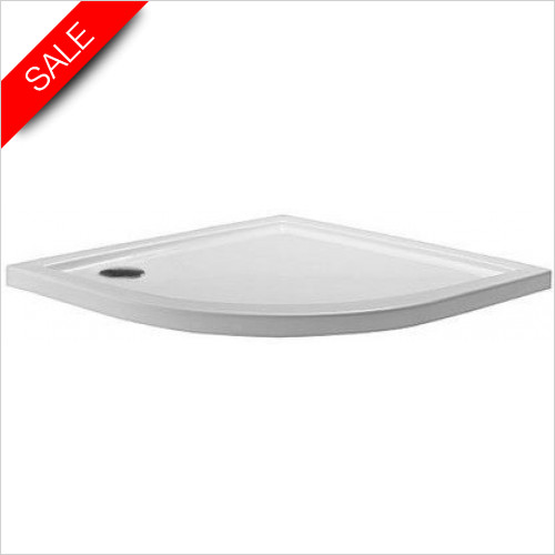 Simpsons Shower Trays - Quadrant Tray 1000x1000x35mm