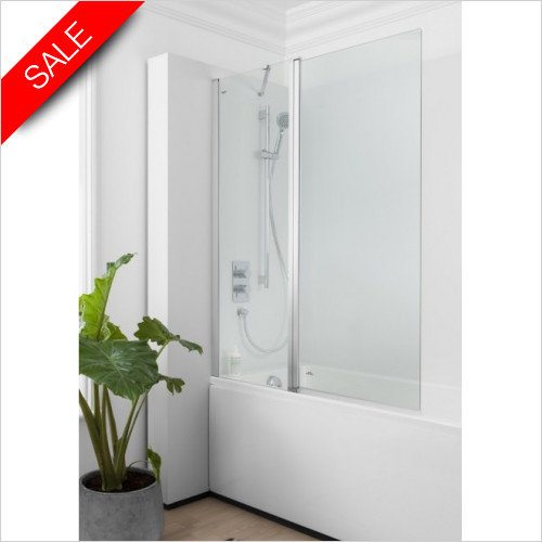 Simpsons Bath Screens - Click Double Bath Screen 1150mm
