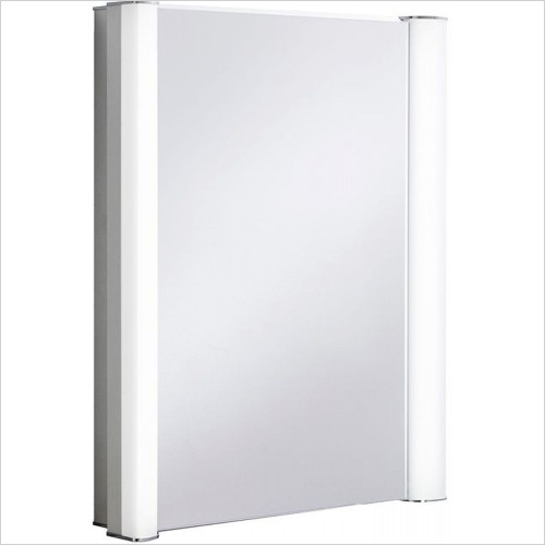 Bauhaus - Duo 600 Aluminium Recess Cabinet LED