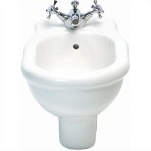 Imperial Bathroom Toilets - Firenze Wall Hung Bidet 1TH