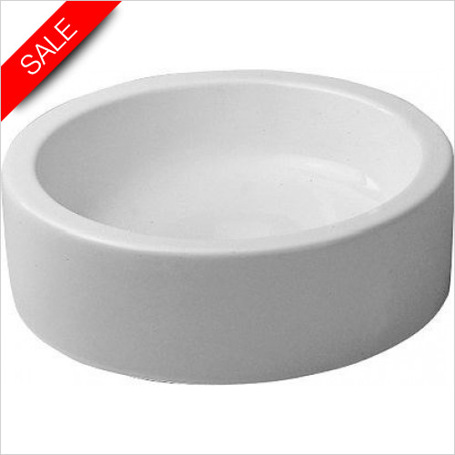 Duravit Basins - Starck 1 Wash Bowl 460mm Cylindric