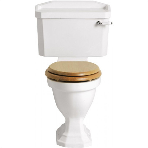 Heritage Toilets - Granley Comfort Height Close Coupled Pan