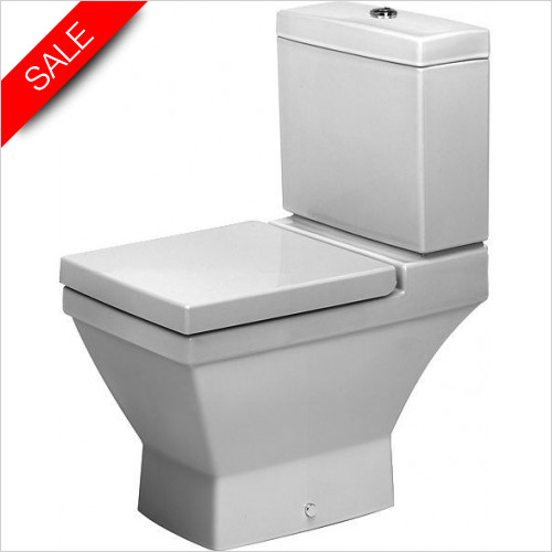Duravit Toilets - 2nd Floor Toilet Close-Coupled 660mm Washdown