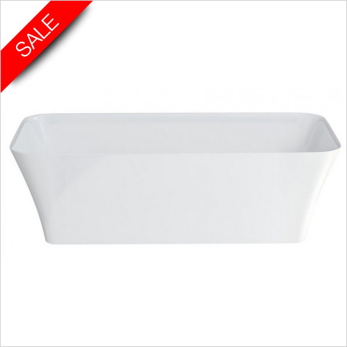 Clearwater - Palermo Petite Clearstone Bath 1524 x 750mm