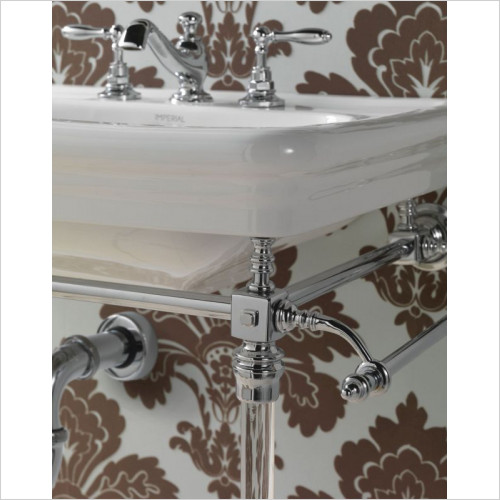 Imperial Bathroom Accessories - Etoile Hardwick Basin Stand
