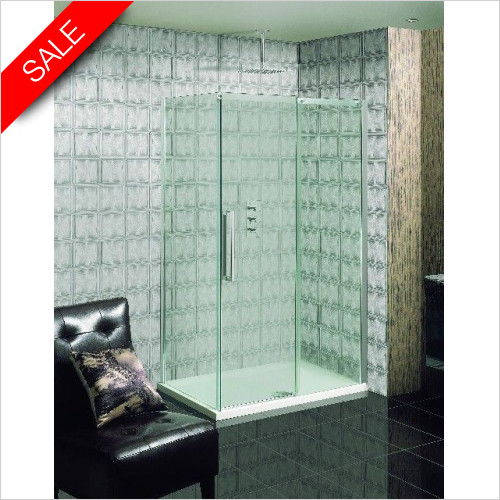 Simpsons Shower Trays - Ten Single Slider Door 1600mm